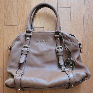 Michael Kors Bedford Satchel Leather Bag